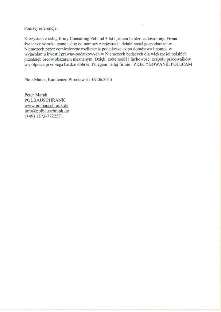 Referencje POLBAUSCHRANK