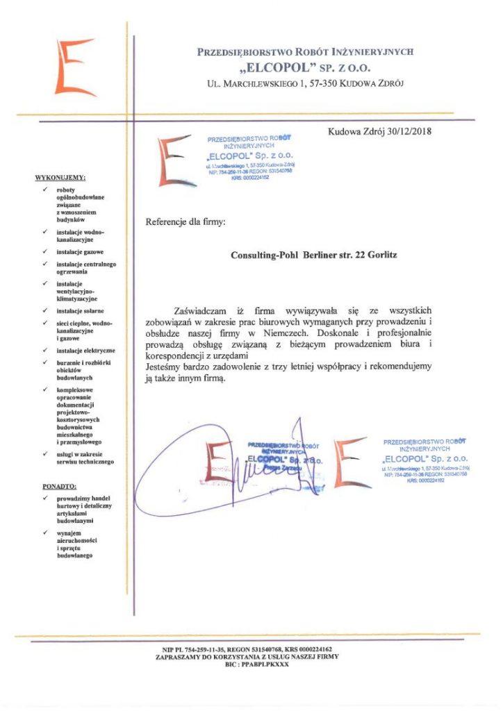 Referencje ELCOPOL
